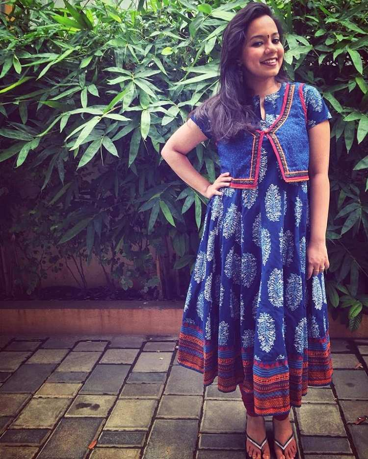 """907b86dbd5 She also adds that even a very traditional attire like an anarkali can be  bold and funky. She says, """"If you are someone who is more into western  style than ..."""