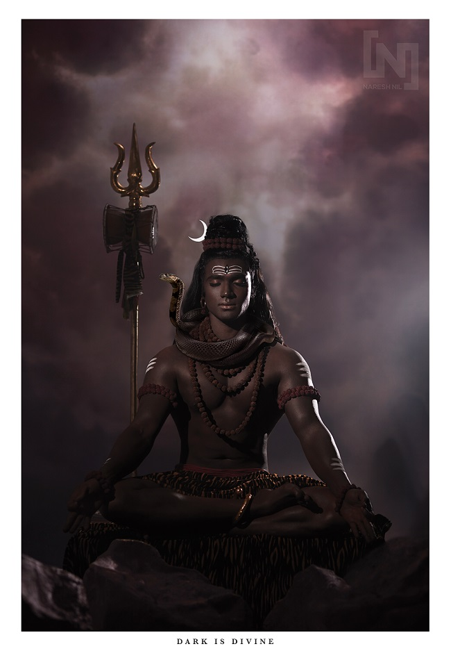 dark is divine chennai duo�s photo series reimagines gods