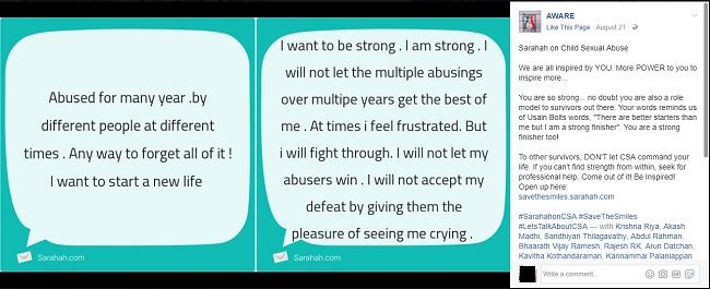 Sarahah for a good cause: A Chennai NGO is using the app to