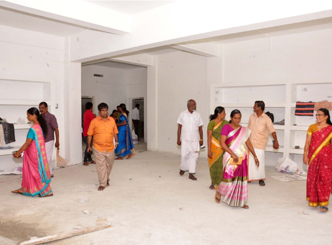 Image result for Kerala's First Cyclone shelter set up in Alappuzha