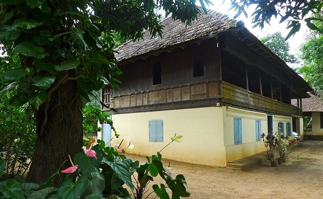 It Is A Very Traditional Kerala Architecture Of The Past. It Has Been Made  Entirely Of Timber And No Nails Were Used. They Donu0027t Build Like That In  Timber ...