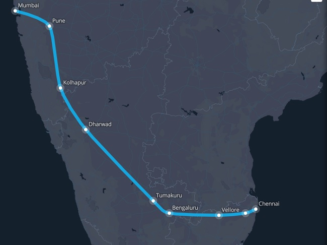 in fact hyperloop india which counts hindustan university as one of its sponsors also pared in the ex hyperloop pod compeion held in august