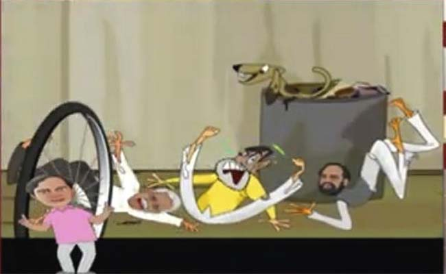 KCR as Baahubali and Chitti: Telugu TV channels get creative on