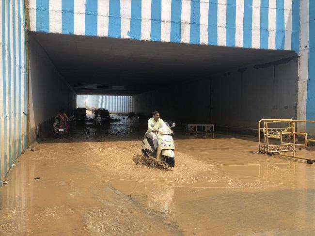 How waterlogging at Bengaluru's new Kodigehalli underpass is affecting commuters
