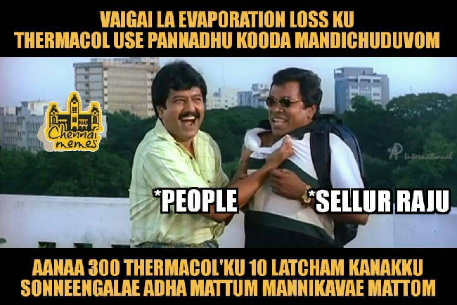 Meme Makers Work Overtime As Tamil Nadu Thermacol Experiment