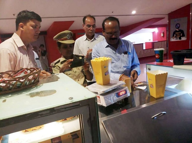 Hyderabad Multiplexes underwent raids for charging more in eatables