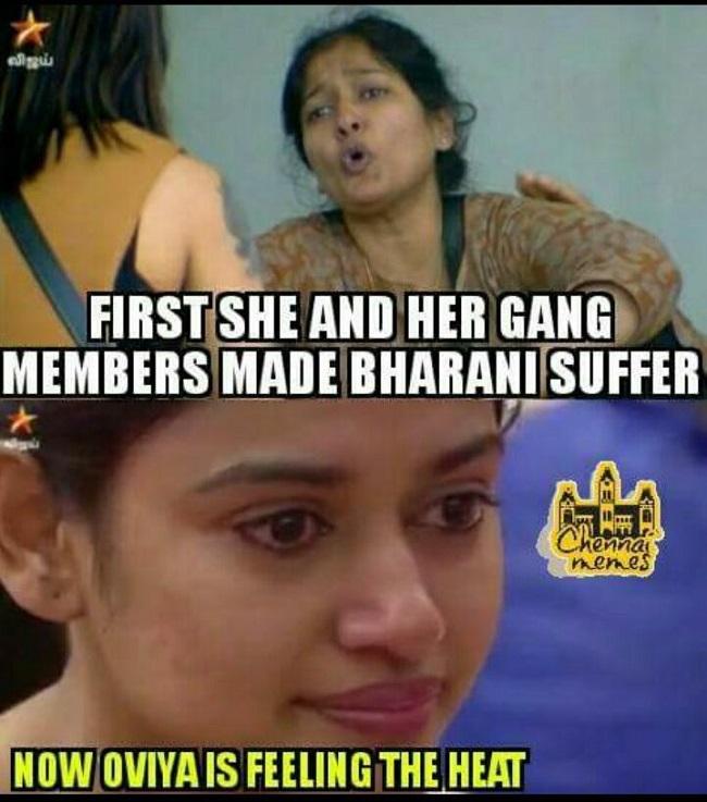 Oviya_Gayathri oviya for cm if you don't agree to save this 'bigg boss