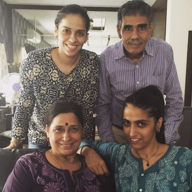 Saina Nehwal Parents