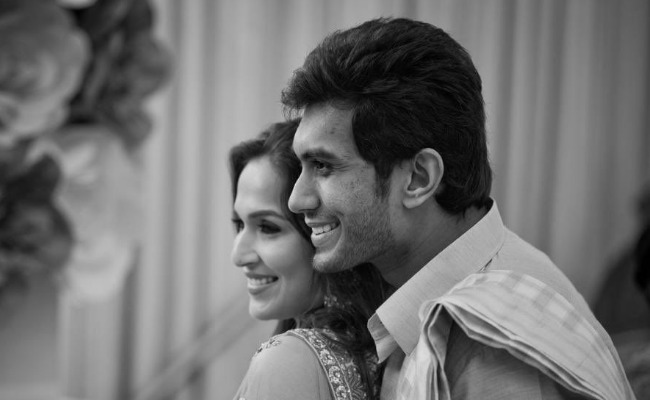 Soundarya marries Vishagan in grand ceremony