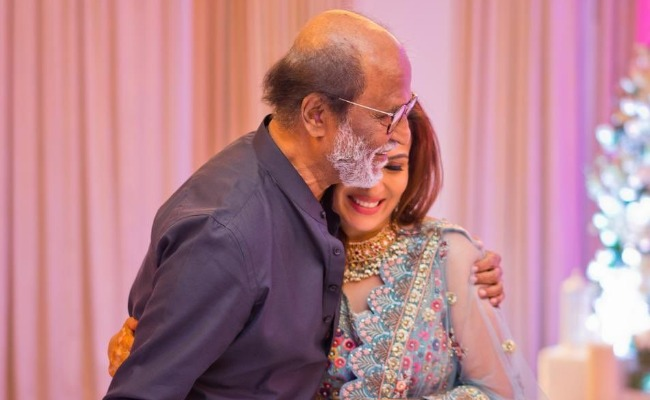 Rajinikanth grooves to 'Oruvan Oruvan Mudhalali' at daughter Soundarya's pre-wedding bash