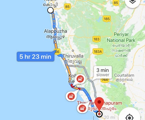 Kerala rains: Key highways and routes cut off in several