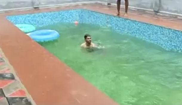 A Tiny House And A Backyard Swimming Pool One Kerala Man S Idea Of Retirement The News Minute