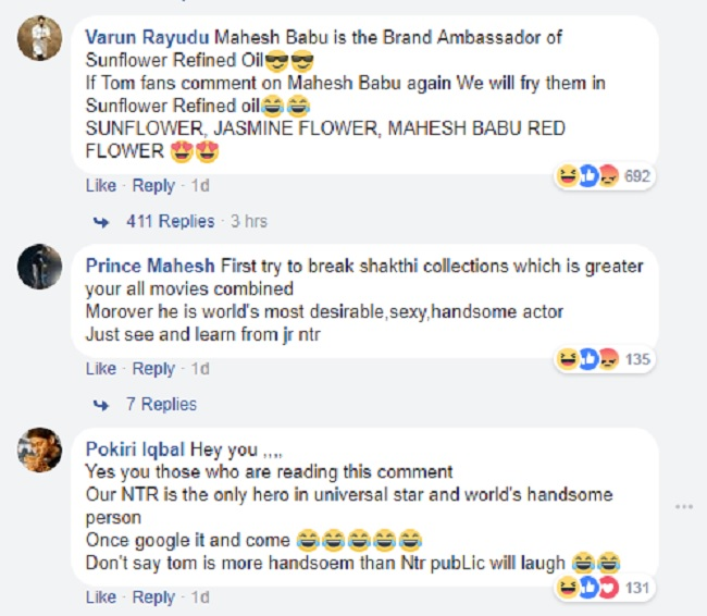 Mission confusion: Jr NTR and Mahesh Babu fans fight on Tom