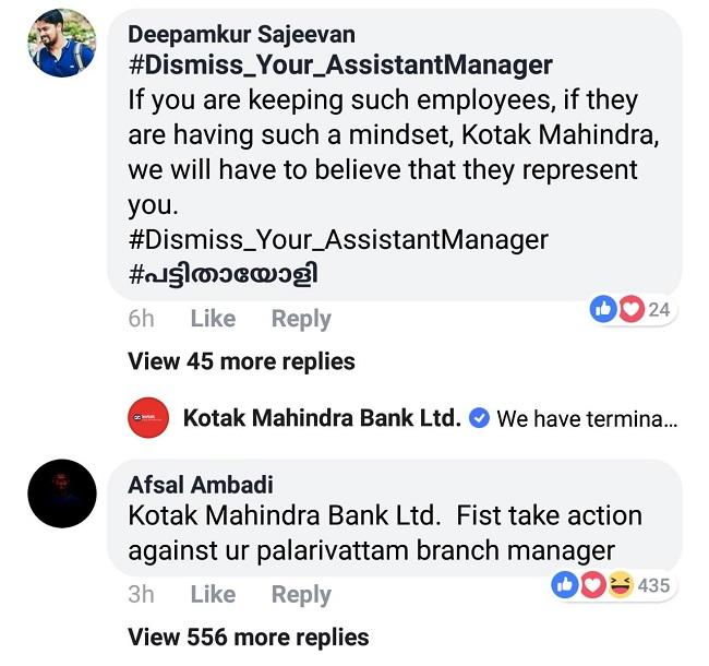 Bank sacks employee; after his hate post over Kathua gang rape