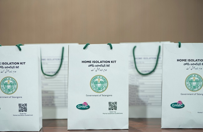 GHMC home isolation kits