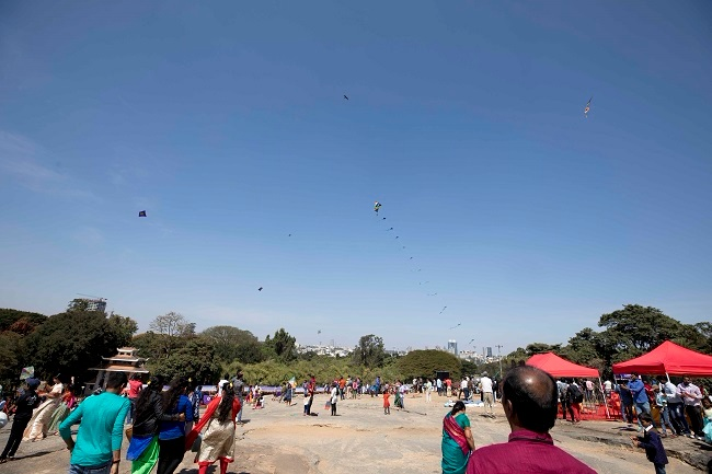 In pics: Kite festival, bullock cart rides and more at