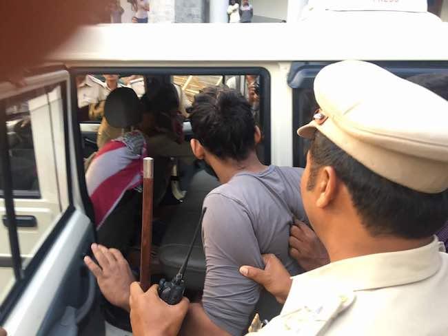 Bengaluru: Police intervene - stop Beef Fest near town hall