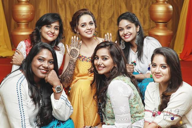 Image result for bhavana and her friend