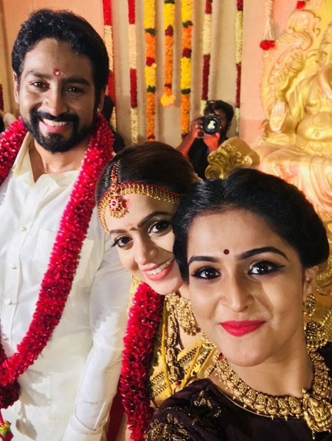 Actor Bhavana Weds Producer Naveen In Thrissur The News
