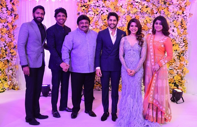 Naga Chaitanya, Samantha hold star studded wedding reception in ...