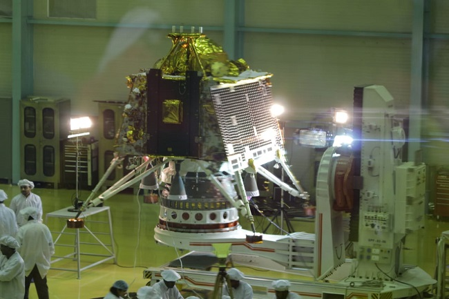 India set to launch second lunar mission; land rover on the moon