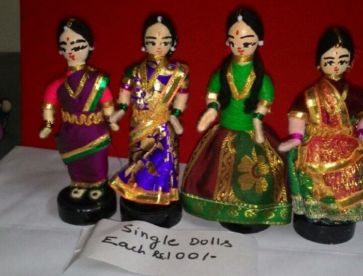 From Dasara to school projects, Chennai's golu-maker creates