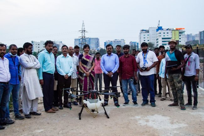 Hyderabad civic authorities to use drones to fight mosquito