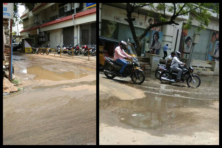 Water Logging Power Cuts And Traffic Congestion After