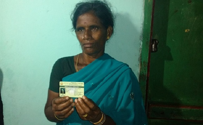 Did Kajal Aggarwal have her Smart Ration Card??