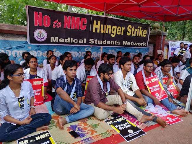 Doctors in Delhi go on strike against NMC bill, emergency services hit