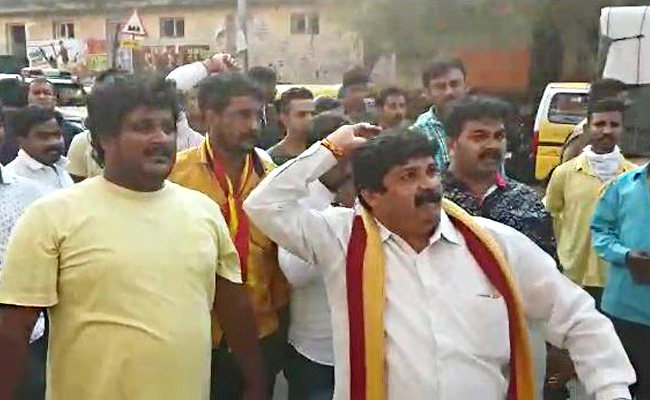 Fight outside 'Mersal' in B'luru: Pro-Kannada outfit calls