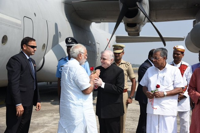 Cyclone Ockhi: Modi on one-day tour to Kerala, TN, Lakshadweep