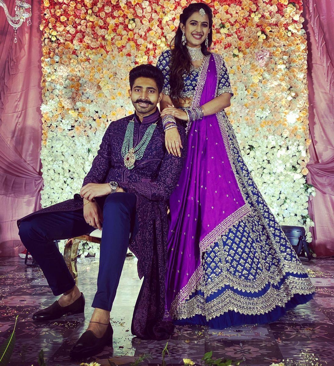 In Pics Actor Niharika Konidela Engaged To Business Strategist Chaitanya Jonnalagadda The News Minute