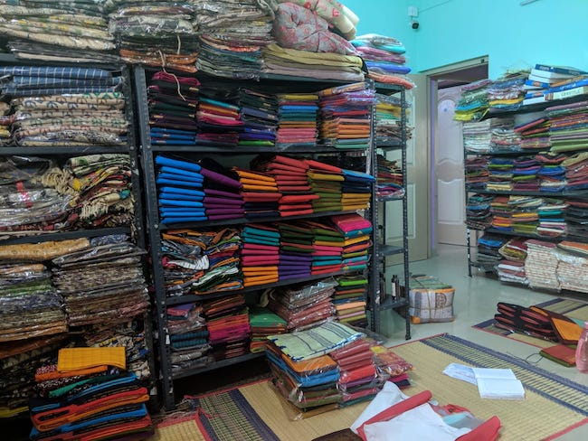 This Chennai woman earns Rs 1 5 lakh monthly selling sarees via an