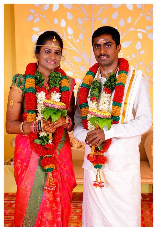A Tamil Nadu couple threw a vegan wedding and all the guests were
