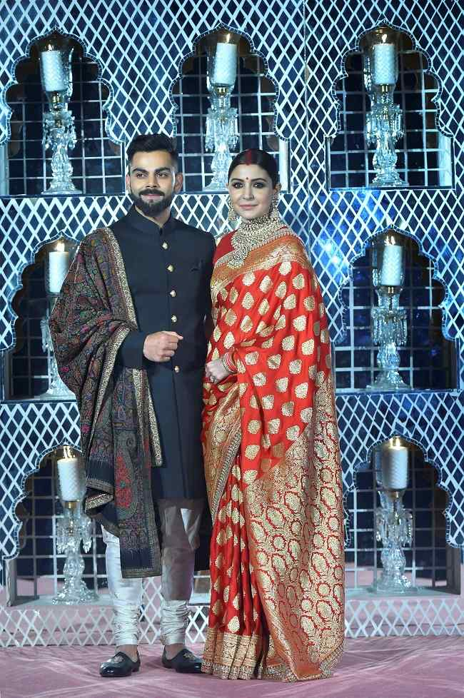 In Pictures Inside Virushkas Grand Wedding Reception In Delhi