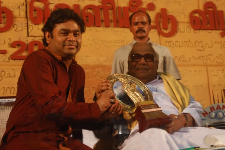 When Karunanidhi collaborated with AR Rahman for the Tamil anthem