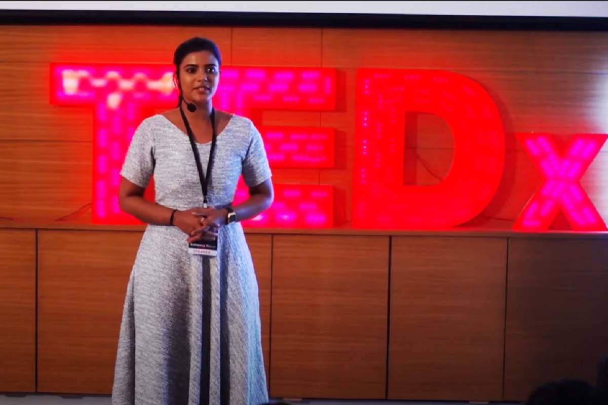 In TedX talk actor Aishwarya Rajesh speaks on childhood sexual harassment and more