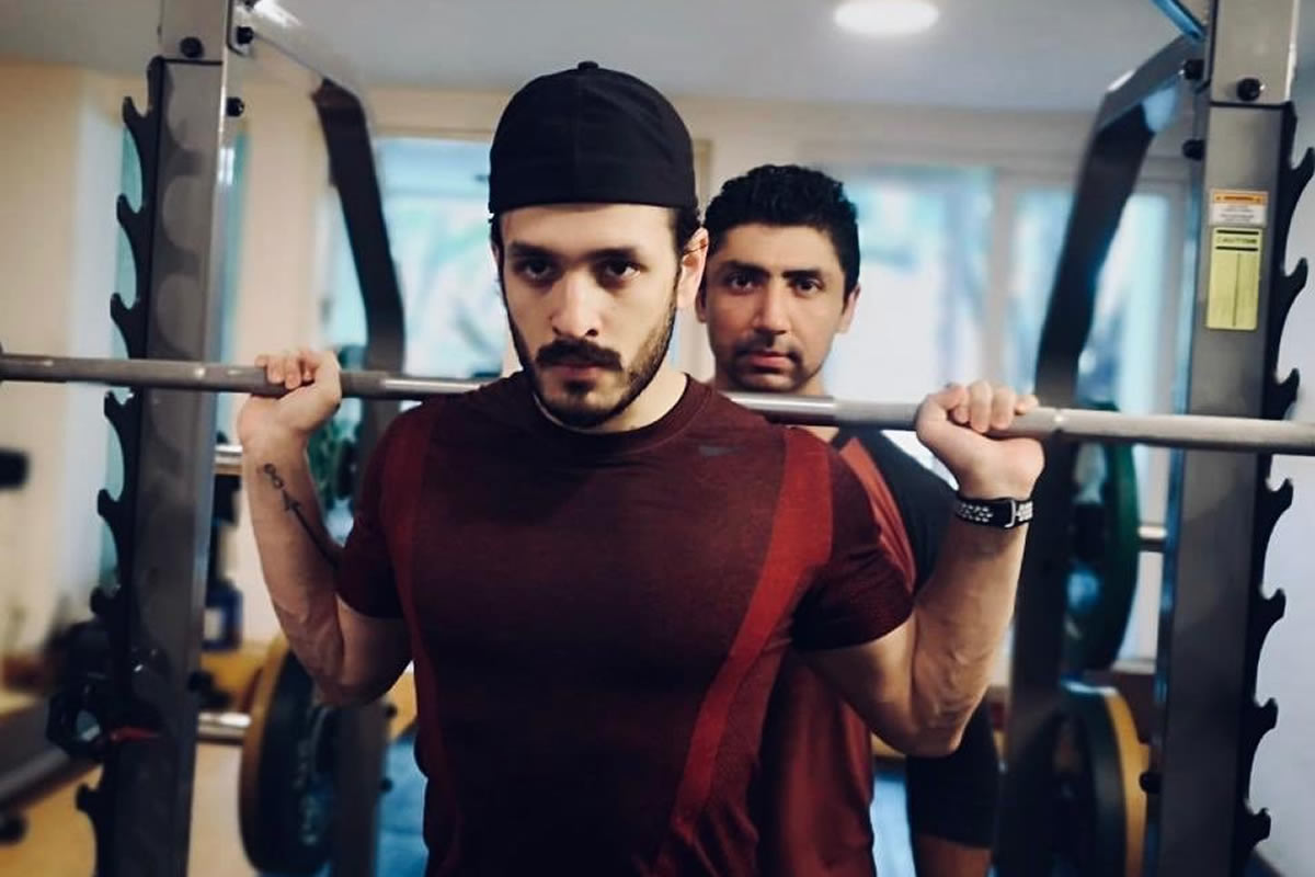 Being the best version of myself': Akhil Akkineni posts workout pics | The  News Minute