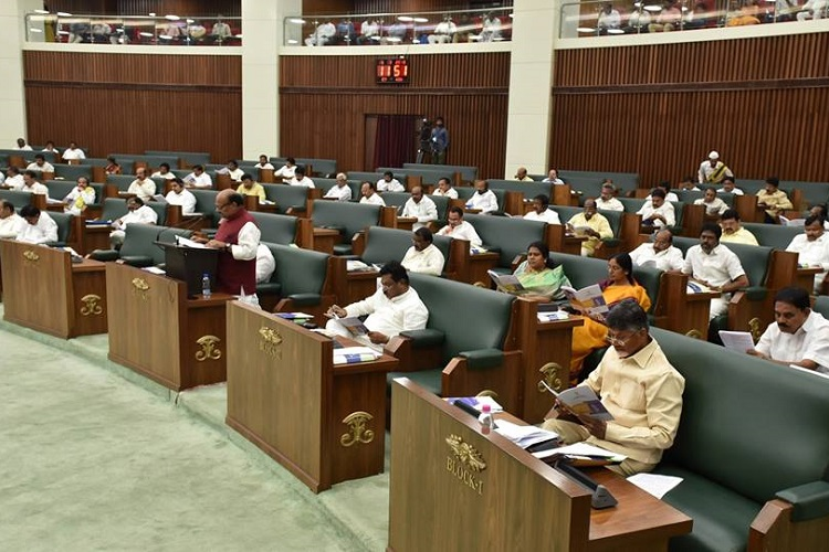 Andhra Budget Govt proposes expenditure of Rs 226117 cr liabilities up 50