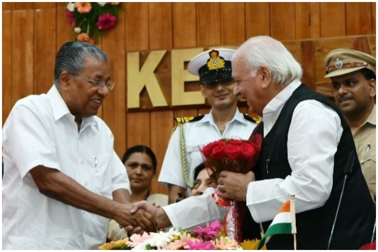 Arif Mohammed Khan sworn in as 22nd Governor of Kerala