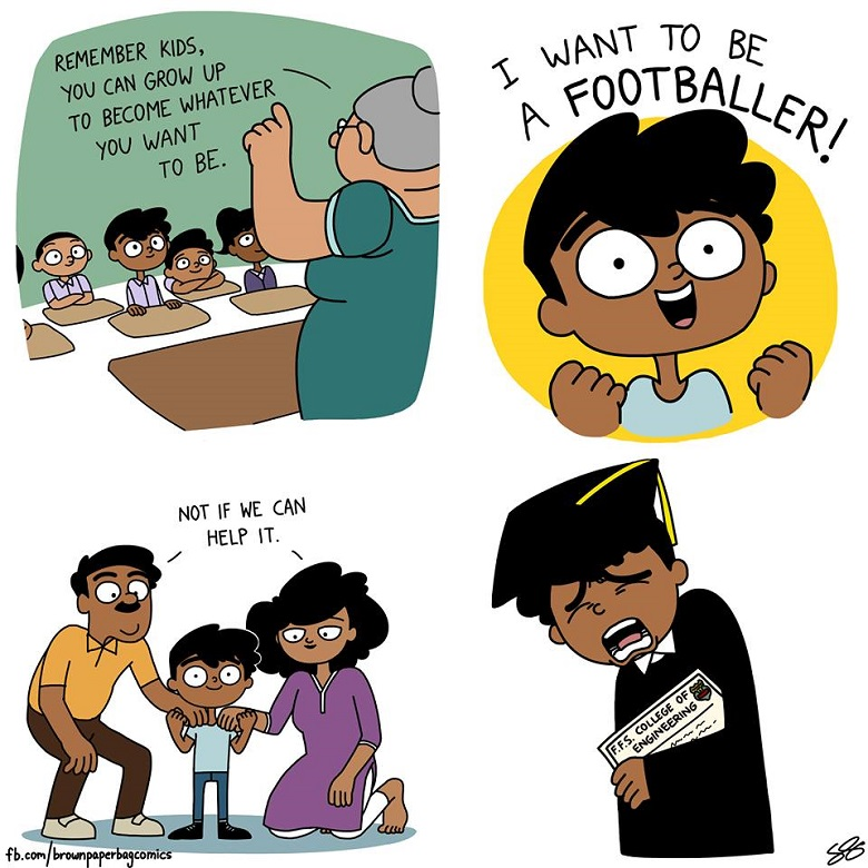 Funny toons: A Bengaluru student's webcomic on Indian