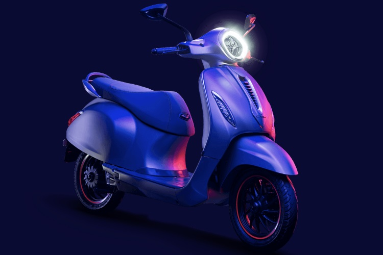 Bajaj Chetak electric scooter launched in India starting at Rs 1 lakh