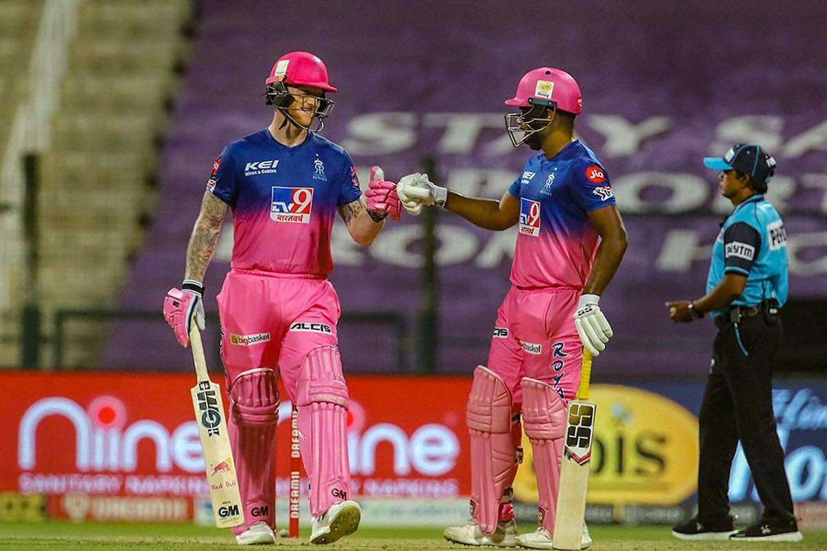 Stokes and Samson steer RR to 8-wicket win over MI