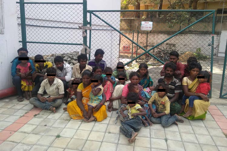 Ktaka brick kiln confines workers children But its not bonded labour say officers
