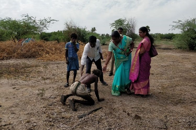 Pic of bonded labourer falling at feet of TN officials betrays his struggle to freedom