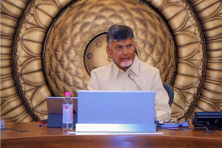 Naidu writes to EC, says he is duty bound and empowered to hold review meetings