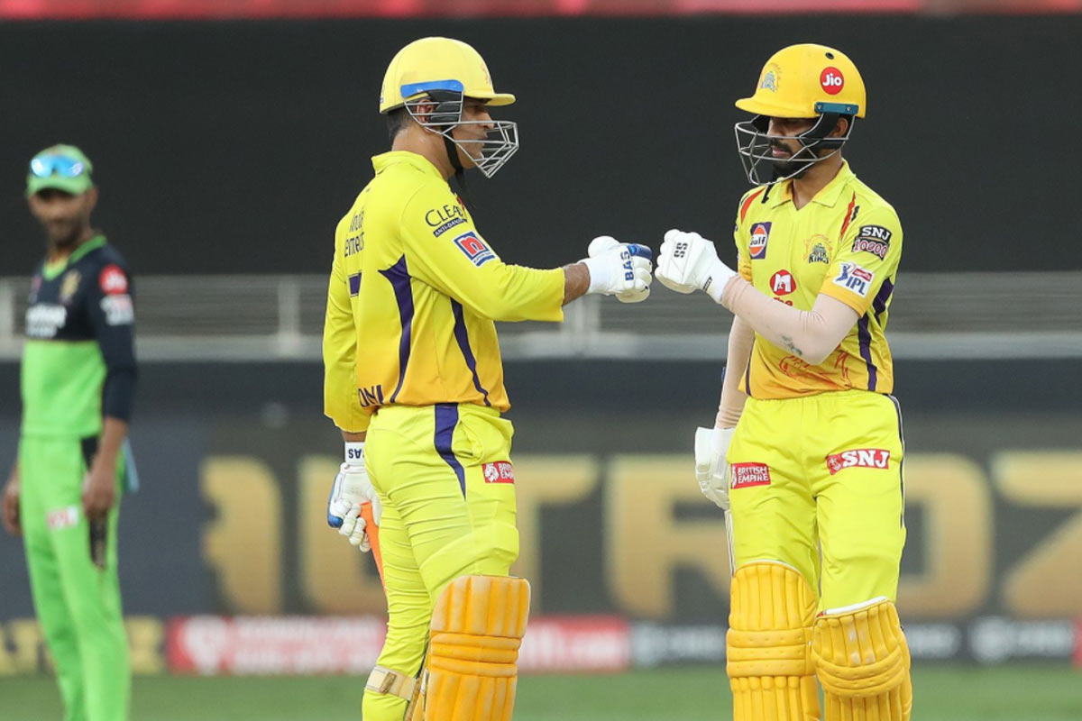 Youngster Ruturaj Gaikwad shines as CSK beat RCB by 8 wickets
