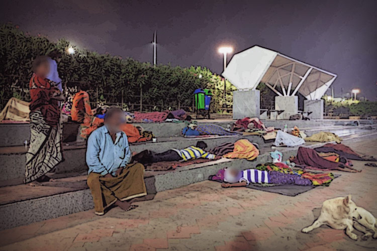 Hounded by cops, abandoned by state: Chennai's homeless fight for dignity on the streets