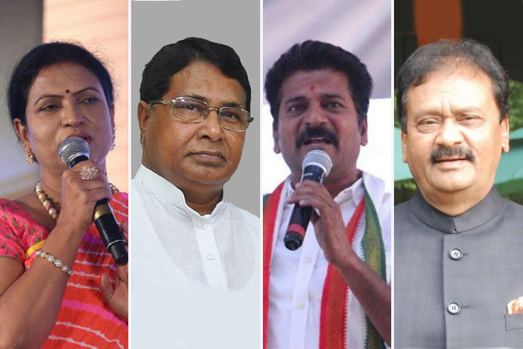 DK Aruna, Jana Reddy, Revanth Reddy: When Congress bigwigs were defeated in Telangana